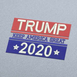 Trump Keep America Great 2020 Embroidery Design Download