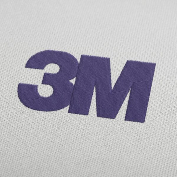 3M Logo Embroidery Design For Instant Download