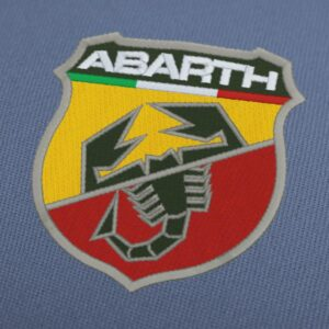 Fiat Abarth Logo Embroidery Design For Instant Download