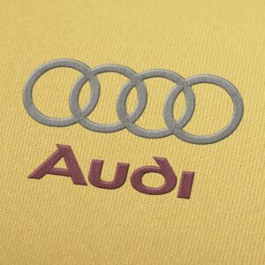 Audi Logo Embroidery design for Instant Download
