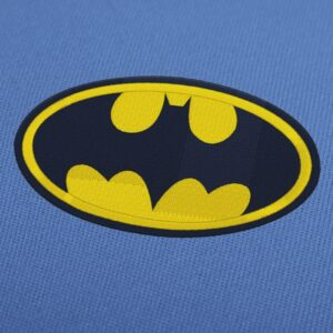 Batman Logo Patch Embroidery Design for Instant Download