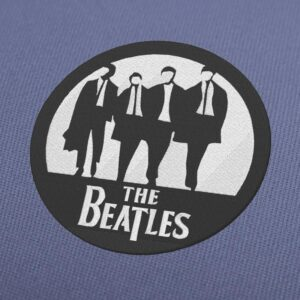 The Beatles Circle Logo Embroidery Design For Instant Download