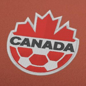 Canada National Soccer Team Embroidery Design For Instant Download
