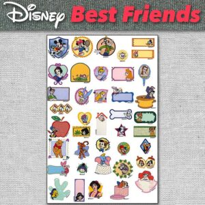 Embroidery Designs Disney Best Friends Pack for Download