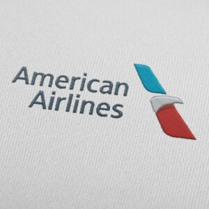 American Airlines Embroidery Design For Instant Download