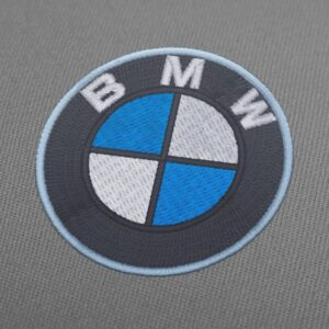 BMW Logo Embroidery Design For Instant Download 2 inch