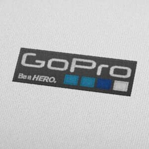 GoPro Logo Embroidery Design For Instant Download