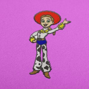 Jessie The Yodeling Cowgirl - Embroidery design download