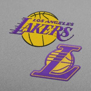 Los Angeles Lakers Pack - Embroidery design download
