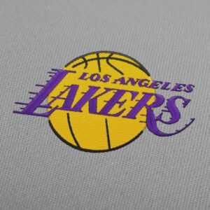 Los Angeles Lakers Embroidery Design - Instant Download