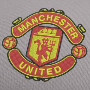 Manchester United Embroidery Design for Instant Download