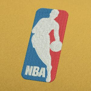 NBA Basketball Embroidery Design for Instant Download