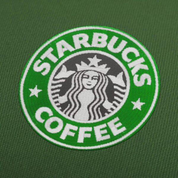 Starbucks Coffee Logo Embroidery Design for Instant Download