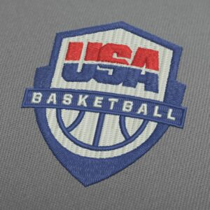 USA Basketball Team Logo Embroidery Design For Instant Download