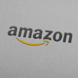 Amazon Logo Embroidery Design For Instant Download