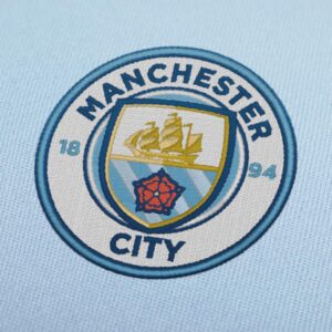 Manchester City New Logo Embroidery Design For Instant Download