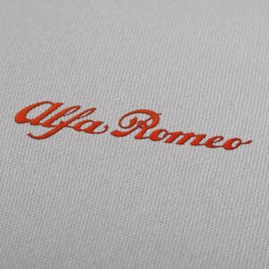 Embroidery Design Alfa Romeo Letters For Instant Download