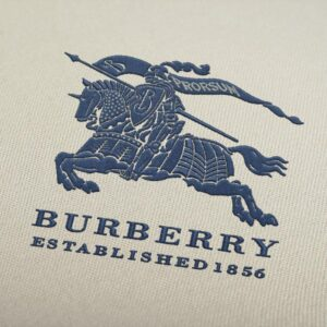 Burberry Embroidery Embroidery Design For Instant Download
