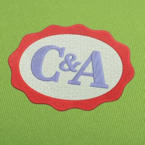 C&A Logo  Embroidery design for Instant Download