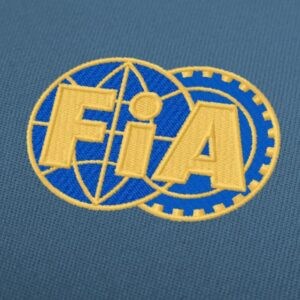 FIA Logo Embroidery Design For Instant Download
