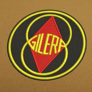 Gilera Logo Embroidery Design For Instant Download