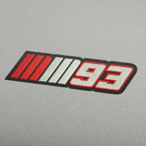 Marc Marquez 93 Logo Embroidery Design For Instant Download