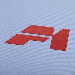 Mclaren F1 Logo Embroidery Design for Instant Download