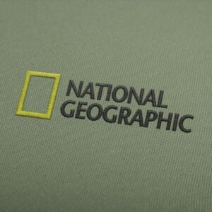 National Geographic Logo Embroidery Design For Instant Download