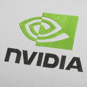 Nvidia Logo Embroidery Design For Instant Download