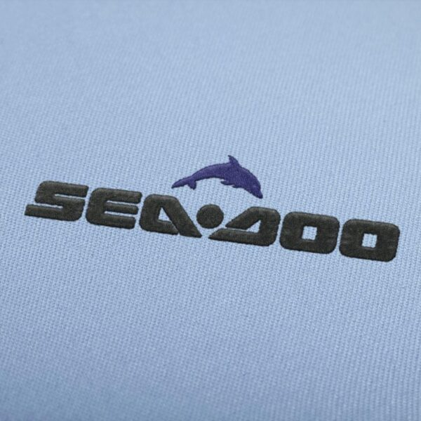 Sea Doo Logo Embroidery Design For Instant Download