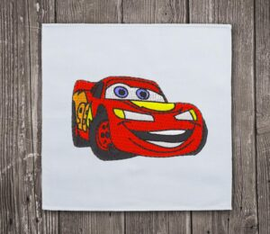 Lightning Mcqueen Disney Embroidery Design For Instant Download