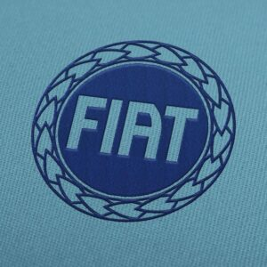 Fiat Logo Embroidery Design For Instant Download
