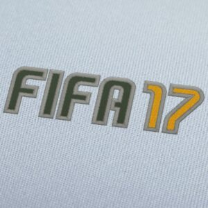 Fifa 17 EA Sports 2 Embroidery Design For Instant Download