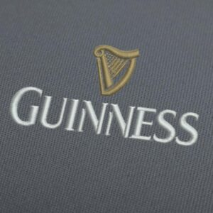 Guinness Logo Embroidery Design For Instant Download