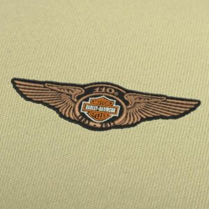 Harley Davidson 110 wings 1903 - 2013 Professional Embroidery Design