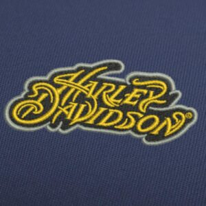 Harley Davidson Lettering Classic Professional Embroidery Design