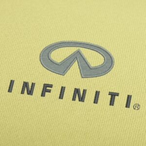 Infiniti Logo Embroidery Design For Instant Download