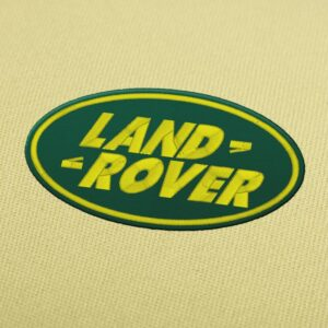 Land Rove Logo Embroidery Design For Instant Download