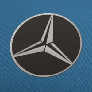 Mercedes Benz logo 2 Embroidery Design For Instant Download