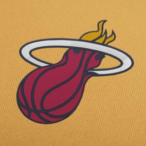 Miami Heat NBA Logo Embroidery Design For Instant Download