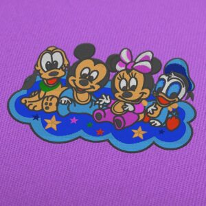 Disney Baby Goofy, Mickey Minnie and Donald Embroidery Design