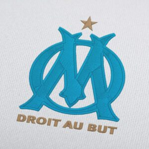 Olympique de Marseille French Soccer For Instant Download