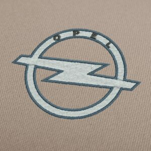Opel logo 2 Embroidery Design For Instant Download