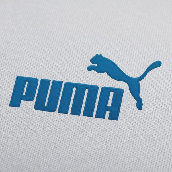 Puma Full Logo With Border Embroidery Design For Instant Download