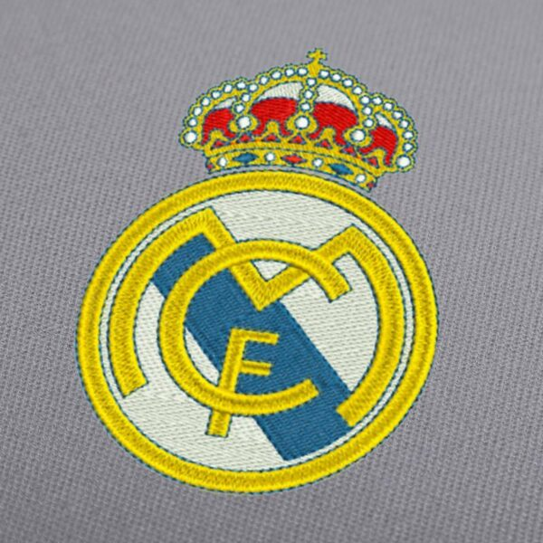 Real Madrid Embroidery Design for Instant Download