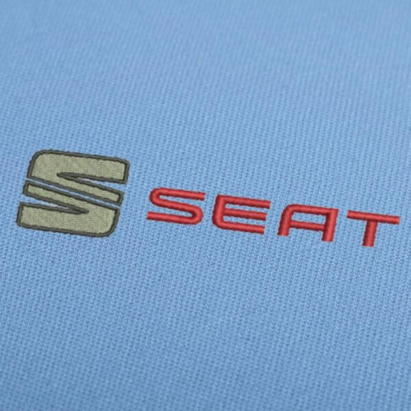Seat logo 1 Embroidery Design For Instant Download