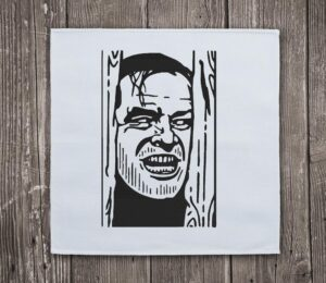 The Shining Jack Nicholson Embroidery Design For Instant Download
