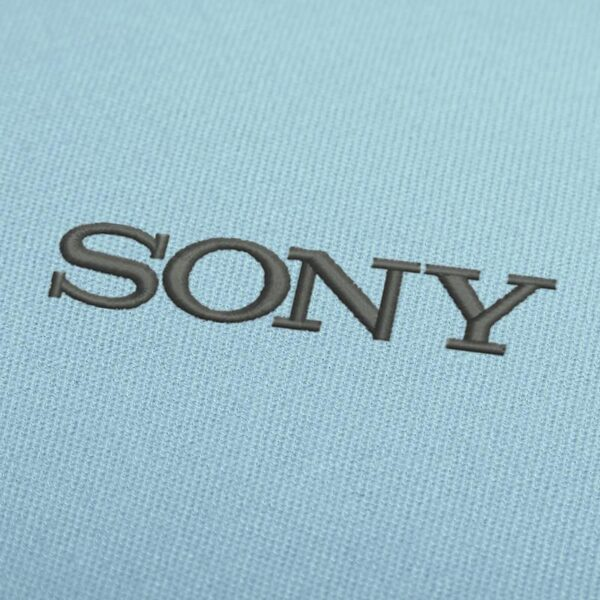 Sony Logo Embroidery Design For Instant Download