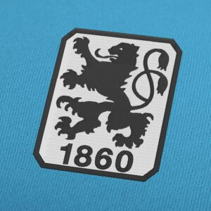 TSV 1860 Munich Logo Embroidery Design For Instant Download