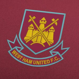 West Ham United FC Logo Embroidery Design For Instant Download